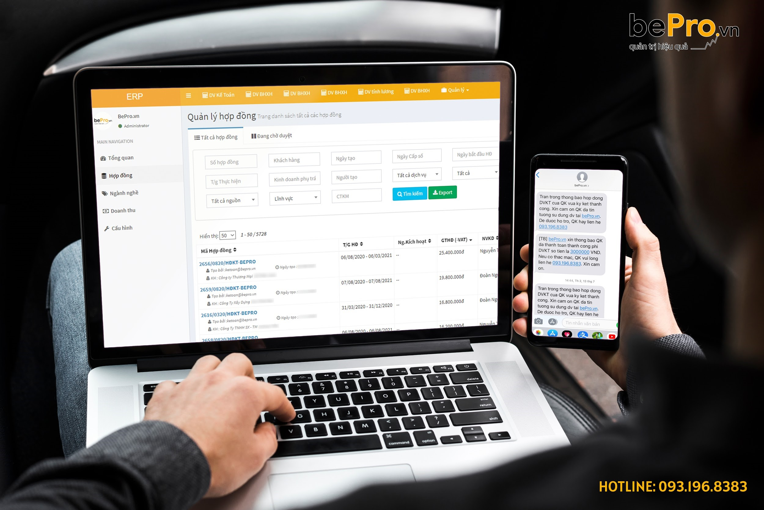 BePro.vn - Chuyên nghiệp hóa hoạt động kế toán với chi phí hợp lý 1