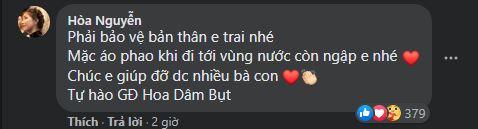 Dòng nhắn nhủ của Hòa Minzy.