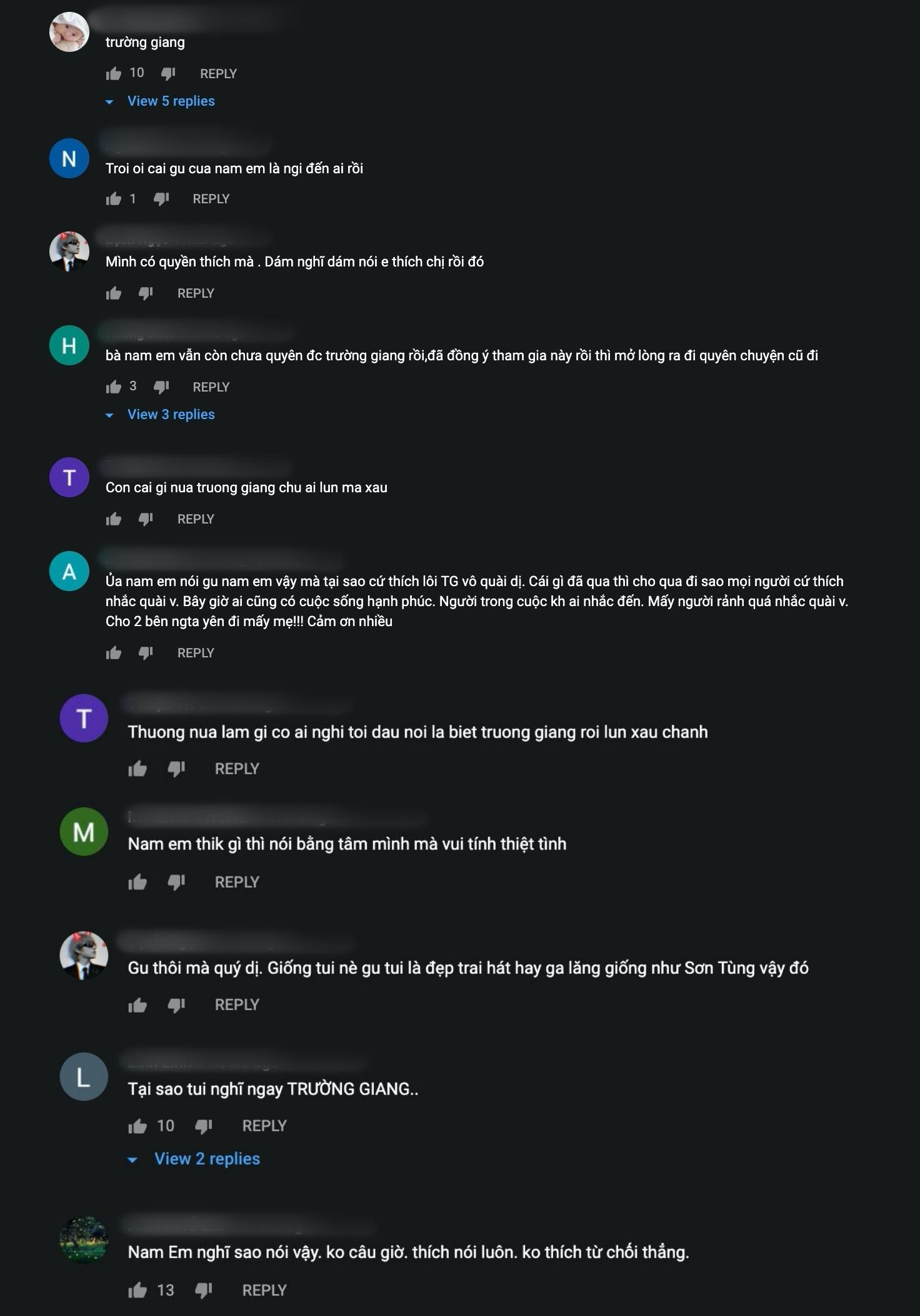 Rất nhiều bình luận đều đề cập đến Trường Giang.
