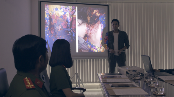 Trường Thịnh và Linh Chi trở thành cộng sự phá án trong 'Phía sau bóng tối' 5
