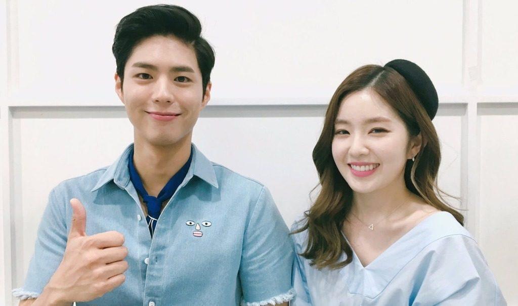 Irene - Park Bo Gum được bình chọn là cặp đôi MC được yêu thích nhất Music Bank