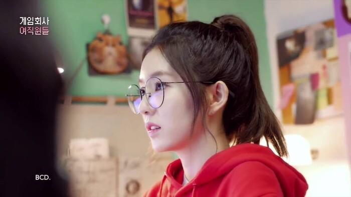Tạo hình đáng yêu của Irene trongGame Development Girls