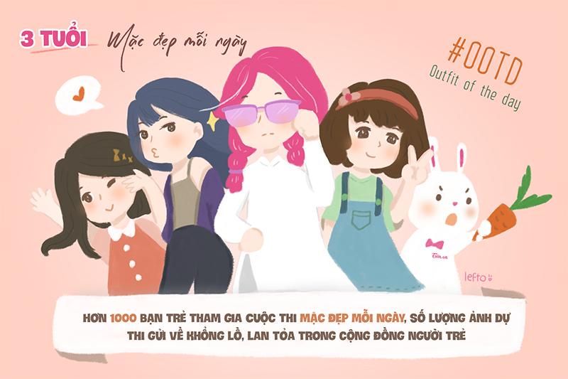 Tiếp nối thành công của Thử làm hotgirl, Tiin.vn tổ chức cuộc thi Mặc đẹp mỗi ngày, sân chơi để các bạn trẻ yêu thích thời trang có cơ hội thể hiện mình, trải nghiệm môi trường làm thời trang chuyên nghiệp với các chuyên gia đầu ngành. Chương trình đã thu hút gần 1000 bạn trẻ tham gia và được biết đến rộng rãi.