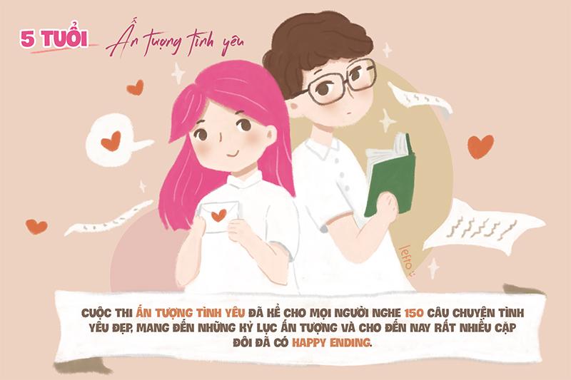 Ấn tượng tình yêu là cuộc thi tìm kiếm những câu chuyện tình yêu ấn tượng, thậm chí là kỷ lục trong đời sống, mang đến những thông điệp, bài học về tình yêu quý giá cho các bạn trẻ. Tiin.vn cũng là cầu nối cho các cặp đôi được kể lại câu chuyện của mình, chia sẻ với mọi người xung quanh.