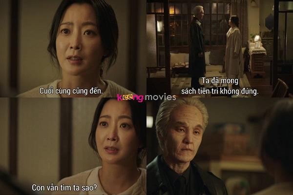 Park Soon Young không bất ngờ khi 'thầy' tìm đến.