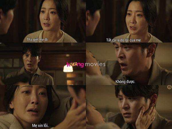 Park Soon Young tự kết liễu trước mắt con trai.