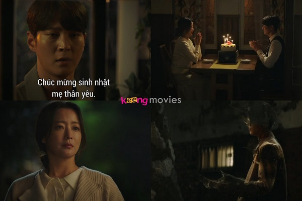 Park Jin Gyeom tự tay giết 'thầy' dù biết mình cũng sẽ biến mất.