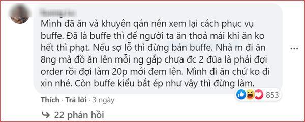 Nhà hàng buffet ở Đà Nẵng bị dân mạng 'tấn công' sau loạt lùm xùm phạt khách 200k vì để thừa 2.9 lạng rau 3