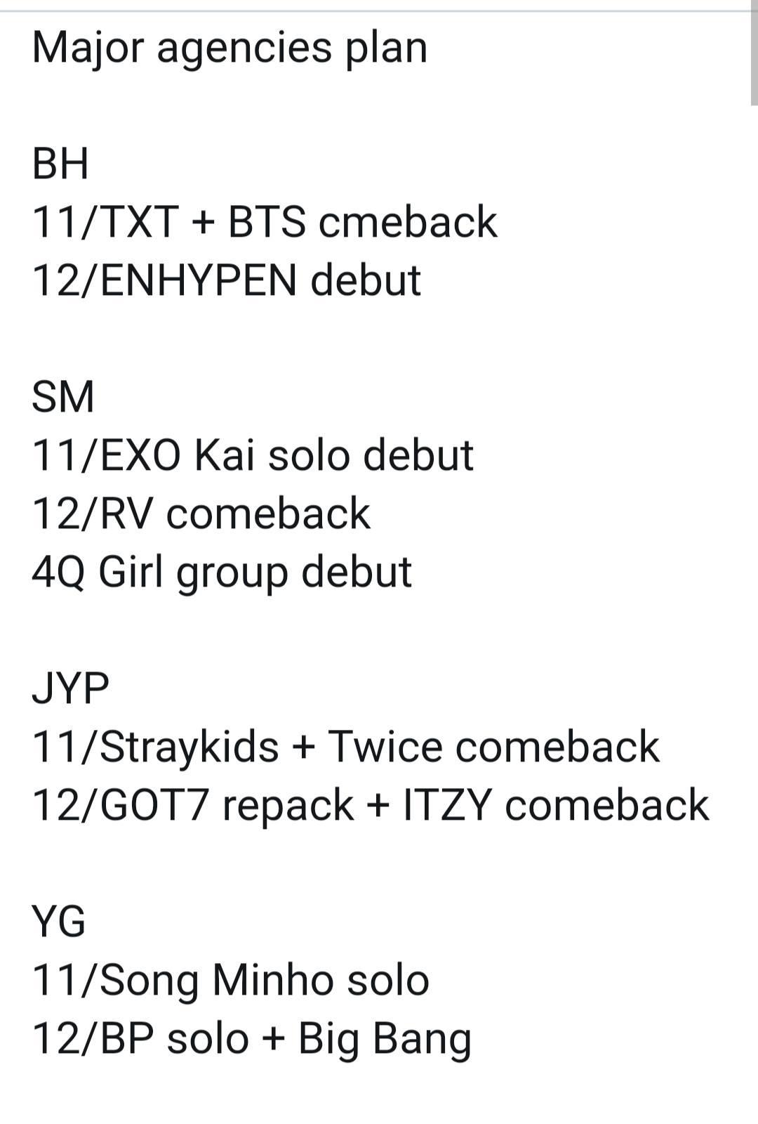 Rumor về việc SM trình làng nhóm nhạc nữ mới đã được nhiều netizen chia sẻ từ trước.