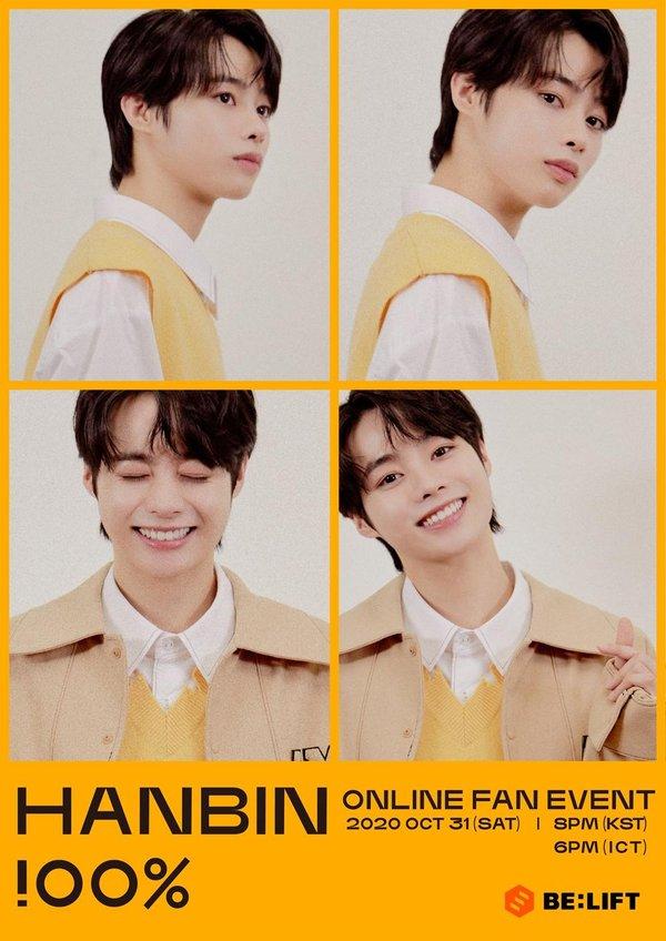 Hanbin là thực tập sinh I-Land duy nhất dù chưa debut nhưng vẫn được tổ chức fanmeeting riêng.