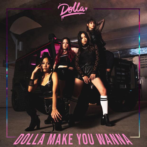 Hình ảnh của Dolla khiến nhiều người liên tưởng tới phong cách girl crush của Black Pink.