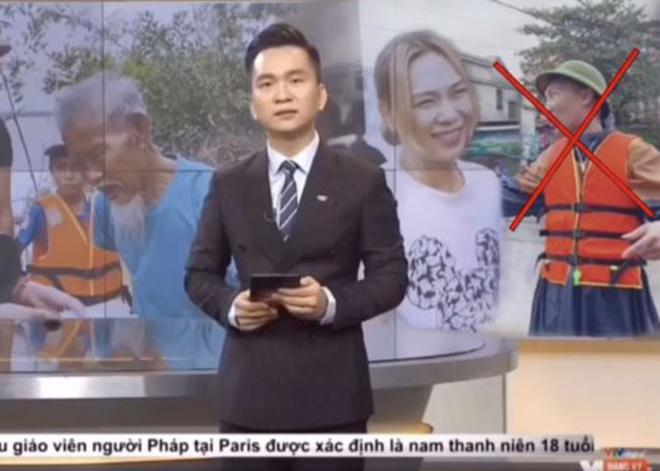 Huấn 'Hoa Hồng' cắt ghép video của mình trong bản tin của Chuyển động 24h.