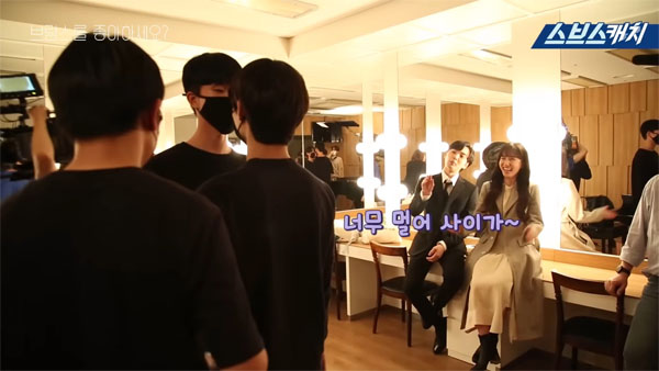 Hậu trường 'Anh có thích Brahms?': Màn cầu hôn lãng mạn không kém phần hài hước của Kim Min Jae - Park Eun Bin 5