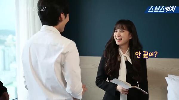 Hậu trường 'Anh có thích Brahms?': Màn cầu hôn lãng mạn không kém phần hài hước của Kim Min Jae - Park Eun Bin 0