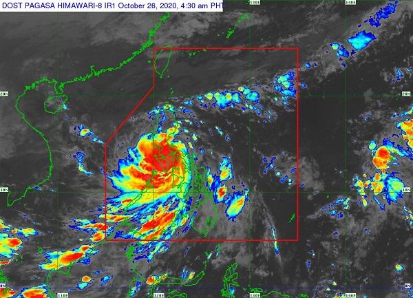 Bão tàn phá mạnh mẽ tại Philipines trước khi đi ra biển Đông.