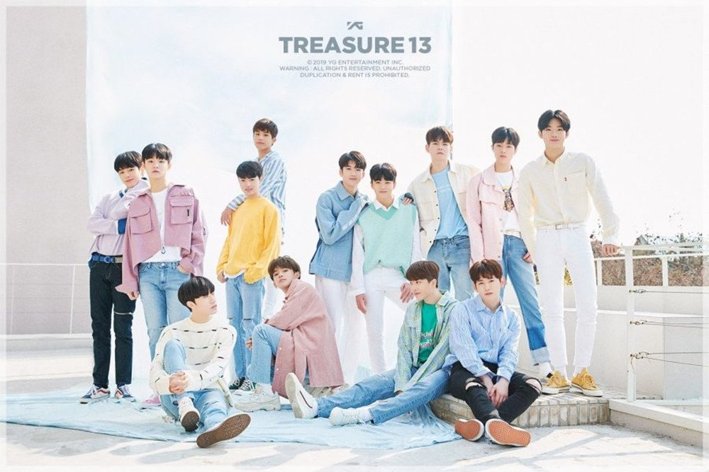 Hồi giữa năm, công ty vừa cho debut nhóm nhạc nam TREASURE
