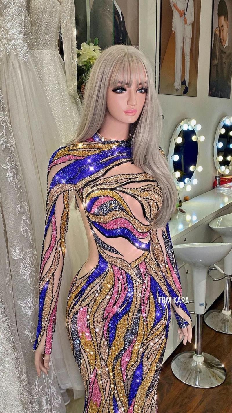 Váy xuyên thấu 'gây bão' của Thái Thị Hoa lọt top trang phục dạ hội đẹp nhất Miss Earth 2020 1