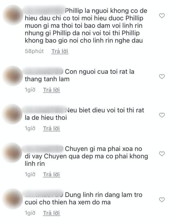 Người phụ nữ hơn 40 tuổi bất ngờ 'bóc phốt' Linh Rin ngăn cản mình đến với Phillip Nguyễn, người đẹp trả lời ra sao? 1