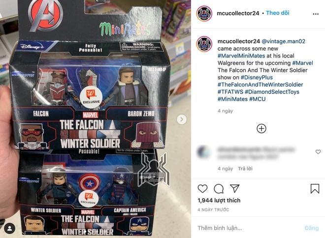 Một tài khoản có tên Mcucollector24 chuyên sưu tầm các mô hình đồ chơi của Marvel đã một lần nữa xác thực thông tin John F. Walker sẽ kế thừa vai trò Captain America.