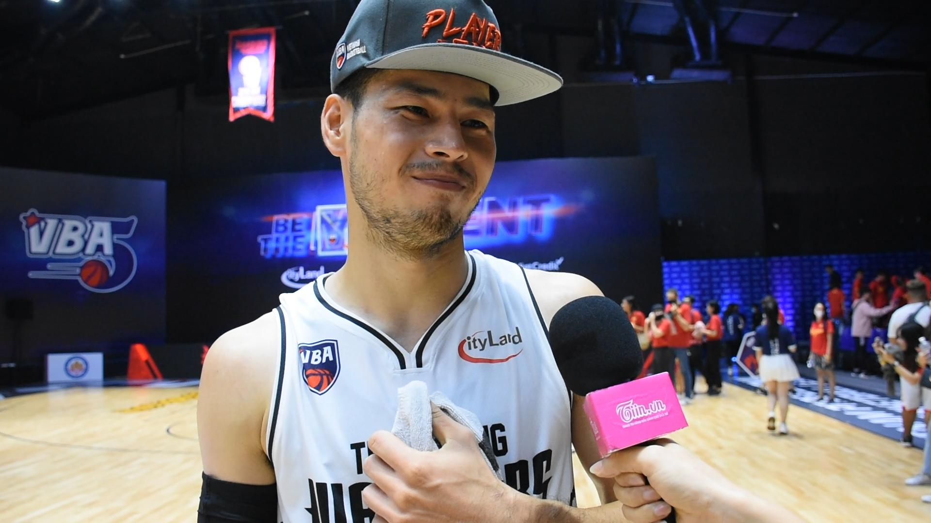 Thái Hưng xúc động khi chia sẻ sau trận đấu