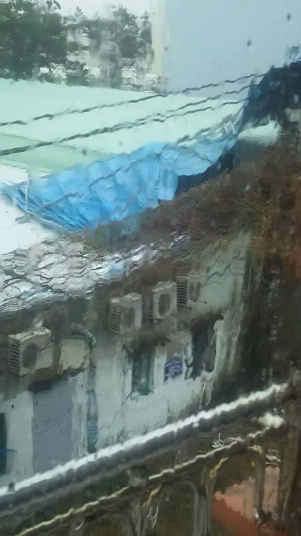 Bão số 9 đổ bộ về Đà Nẵng. Ảnh Trường Duy.