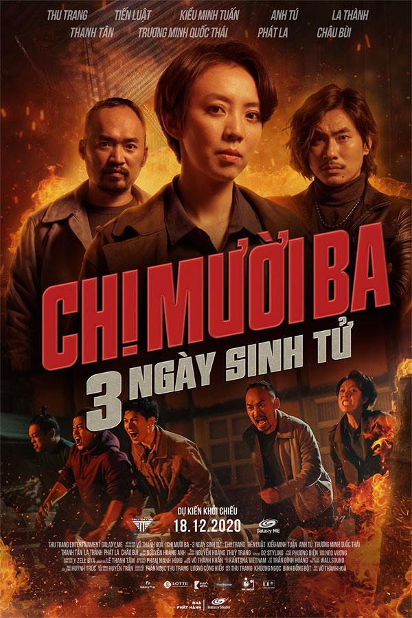 Được đà thắng lớn với 'Tiệc trăng máu', Thu Trang công bố lịch chiếu 'Chị Mười Ba 2' 0