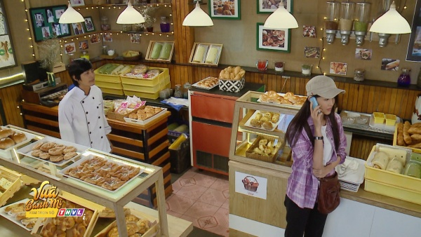 'Vua bánh mì' tập 31: Quốc Huy, Bạch Công Khanh suýt 'choảng nhau' vì Trương Mỹ Nhân 1