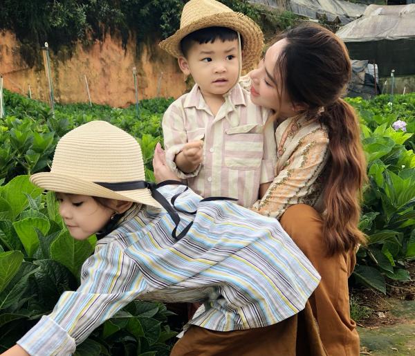 Thành Đạt - Hải Băng tung bộ ảnh gia đình nông dân siêu đáng yêu 4