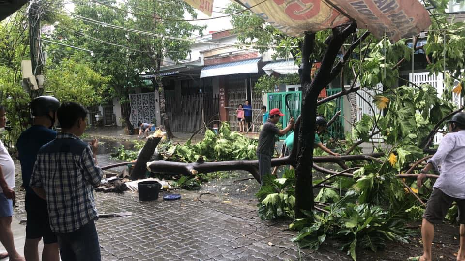 Thống kê những thiệt hại ban đầu tại Đà Nẵng, Quảng Ngãi, Phú Yên khi siêu bão số 9 càn quét mạnh nhất 5