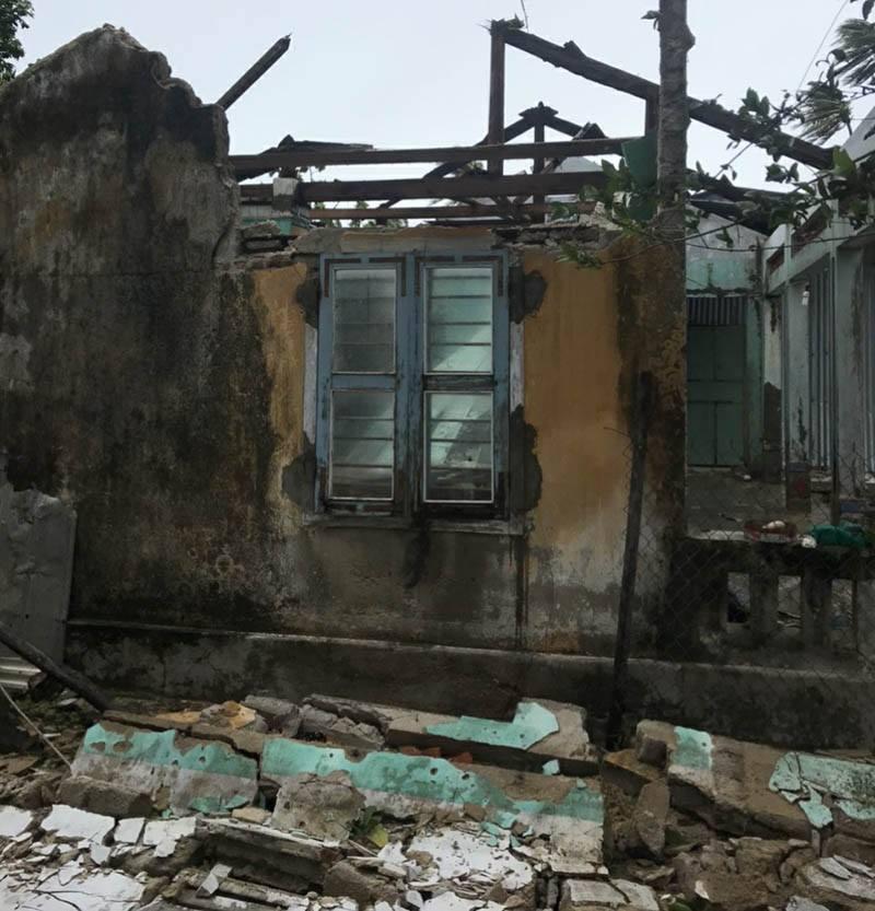 Thống kê những thiệt hại ban đầu tại Đà Nẵng, Quảng Ngãi, Phú Yên khi siêu bão số 9 càn quét mạnh nhất 17