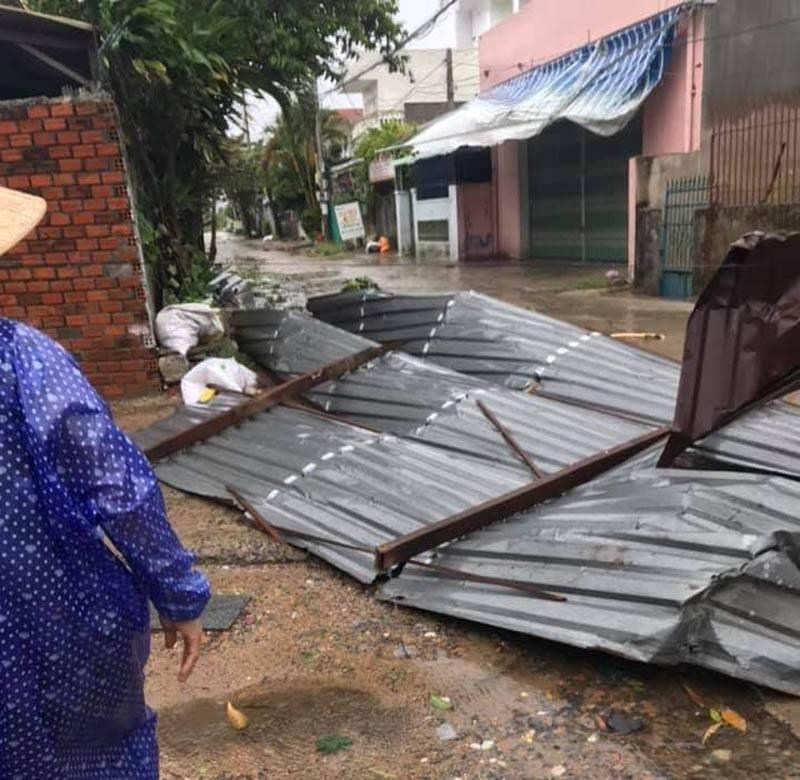 Thống kê những thiệt hại ban đầu tại Đà Nẵng, Quảng Ngãi, Phú Yên khi siêu bão số 9 càn quét mạnh nhất 19
