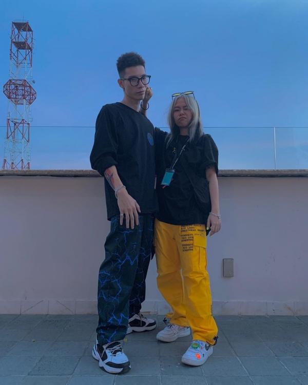 Cặp đôi mới của làng rap