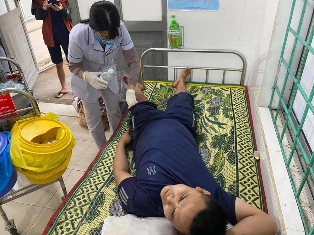 Anh Nam nhập viện trong tình trạng ngất xỉu