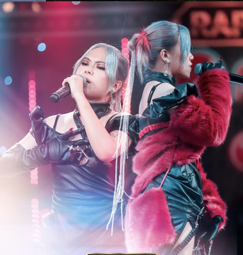 Tlinh và MCK trong tập 13 Rap Việt.