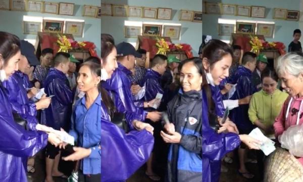 Lần cập nhật gần đây nhất, Thủy Tiên cho biết tổng số tiền cứu trợ cô nhận được đã lên tới 150 tỷ VNĐ