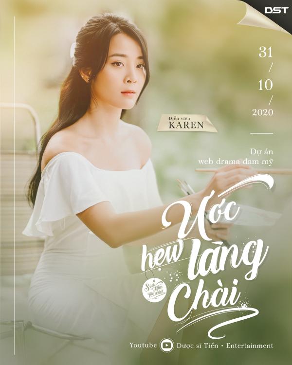 Web Drama có 'tiểu tam' Karen tung teaser và poster hé lộ dàn nhân vật ấn tượng 8
