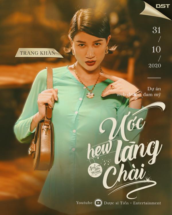 Web Drama có 'tiểu tam' Karen tung teaser và poster hé lộ dàn nhân vật ấn tượng 9