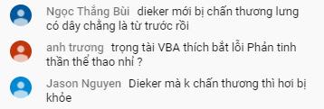 Fans VBA 2020 xôn xao về việc Chris (Danang Dragons) bị chấn thương 'nhưng vẫn phải thi đấu' 1