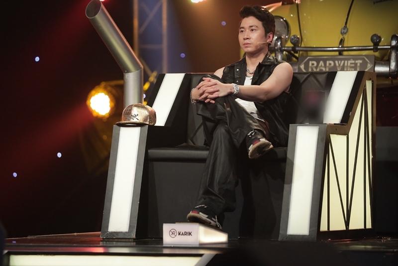 'Rap Việt' tập 14: Karik tự hào vì Ricky Star về đội mình, bày tỏ 'hơi ngán' Yuno Bigboi 2