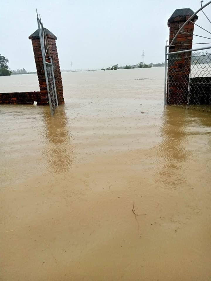 Nước lũ ở Nghệ An chưa rút, nhiều nơi ngập sâu trong nước 6