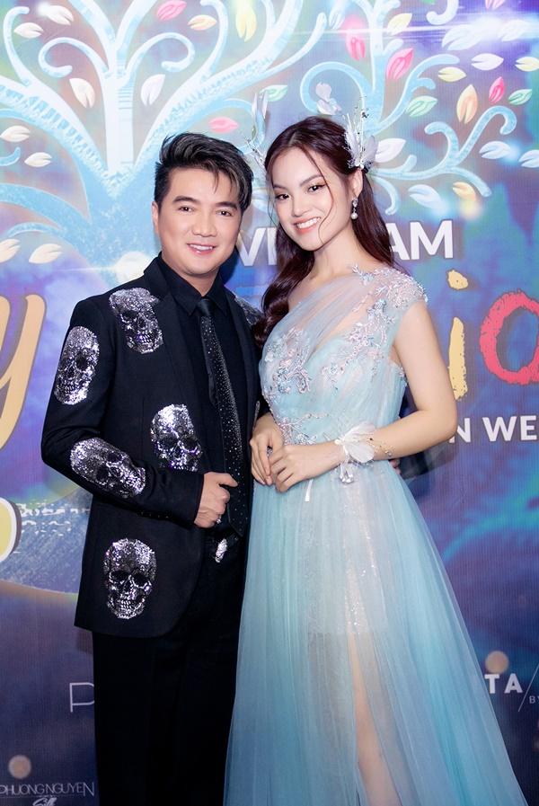 Sunny Đan Ngọc và ca sĩ Đàm Vĩnh Hưng.