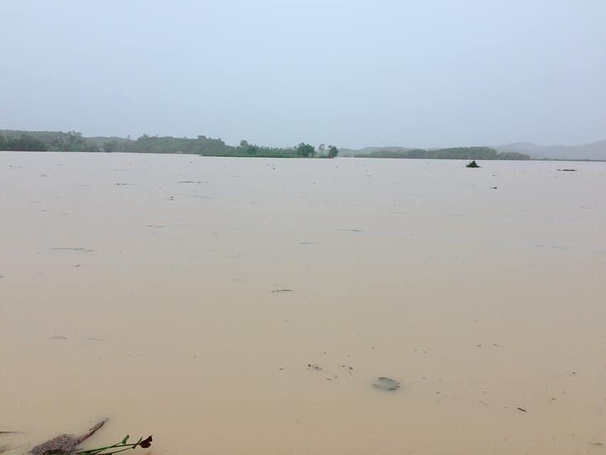 Nước lũ ở Nghệ An chưa rút, nhiều nơi ngập sâu trong nước 3