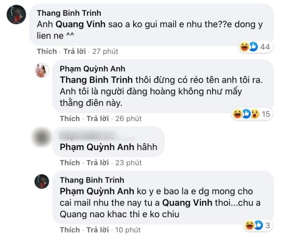 Khi Trịnh Thăng Bình đùa giỡn cũng bị Phạm Quỳnh Anh 'bật' lại không thương tiếc
