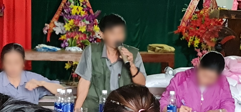 Chủ tịch xã Cảnh Hóa: Thủy Tiên gọi điện nhờ xã giải quyết, thôn Ngọa Cương đã trả lại tiền thu cho bà con 1