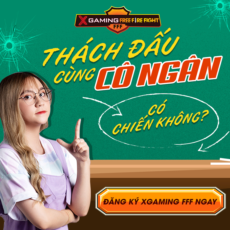 Cô Ngân TV tham dự giải đấu