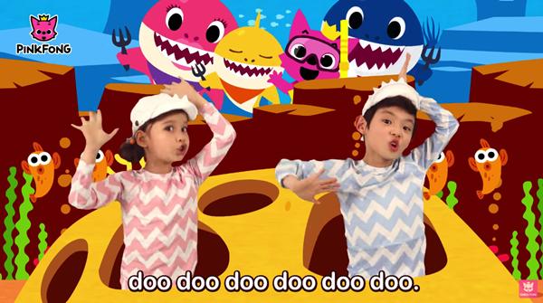 'Vũ điệu cá mập' Baby Shark'lăm le' trở thành MV nhiều view nhất thế giới, cách Quán quân 'Despacito' chỉ 16 triệu lượt xem 2