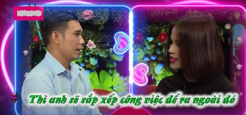 Lặn lội vào Sài Gòn lên show hẹn hò, bà mẹ 2 con lại từ chối bấm nút dù đối phương đồng ý ra Hà Nội 2