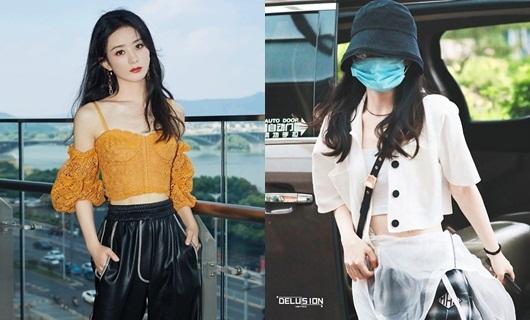 Cô nàng thường xuyên diện áo crop-top khoe eo thon và mỗi lần xuất hiện đều dễ dàng chiếm được sự chú ý.