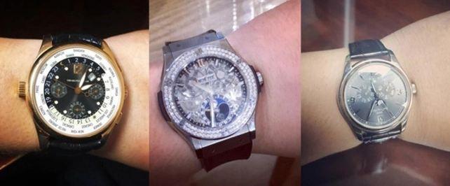 Những chiếc đồng hồ bạc tỉ