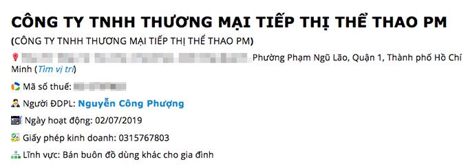 Công ty riêng của Công Phượng dưới sự điều hành của vợ trẻ Viên Minh.